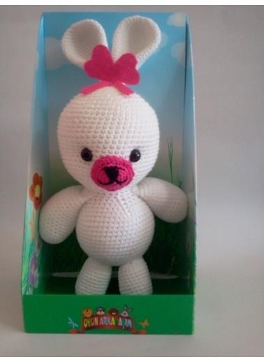 Damla Oyuncak Damla Oyuncak Amigurumi Tavşan Renkli Oyuncak Renkli